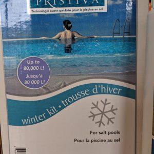 Trousse de fermeture piscine au sel, 80 000L